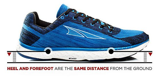 Altra Zero-Drop Trainers can improve Morton's neuroma symptoms.